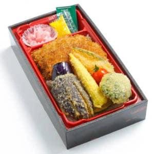 野菜カツ弁当