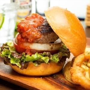 【BC04】黒毛和牛とろけるバーガー Premium Kuroge Beef Burger BC04