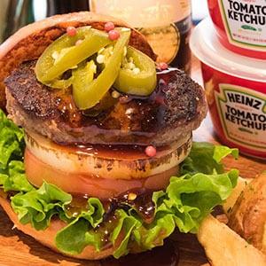 BBQバーガー BBQ Beef Burger BC21