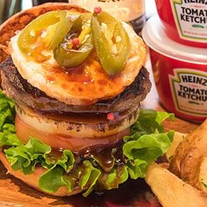 BBQエッグバーガー BBQ Egg Burger BC22