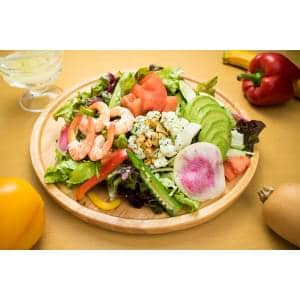 海老とアボカドのコブサラダ Shrimp Cobb Salad