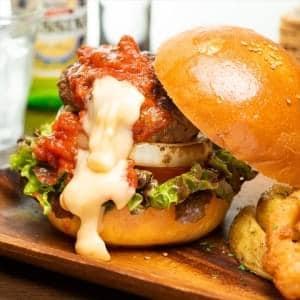 【BC11】クアトロチーズバーガー Quattro Cheese Beef Burger BC11