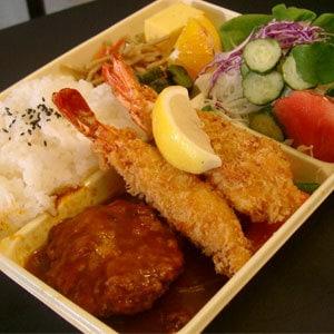 海老フライとハンバーグステーキ※今だけ限定価格※ 通常価格1900円→