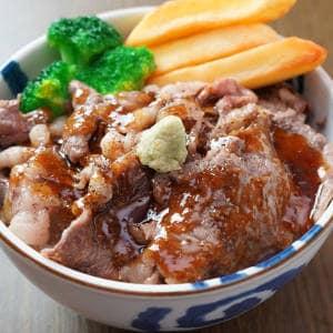 国産黒毛和牛 リブロース焼肉丼C