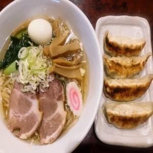 【感謝価格】ラーメン+大餃子4個セット
