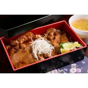 ロース豚丼(味噌汁、漬物付)