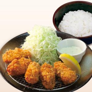 【20%OFF】カキフライ定食(5個)