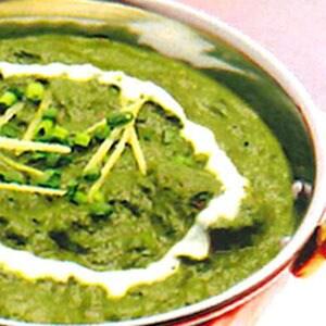サグマトンカレー sag mutton