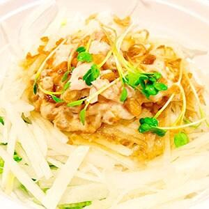ツナと納豆サラダ