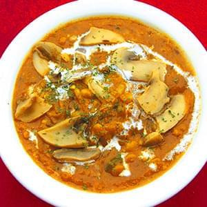 ダルマッシュルームカレー/Dal Mushroom Curry