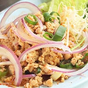 【タイ料理】豚ミンチのハーブサラダ