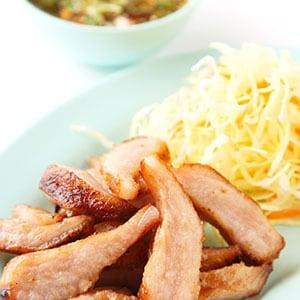 【タイ料理】豚トロの炭火あぶり焼き