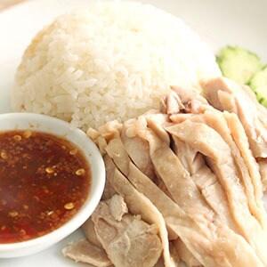 【タイ料理】カオマンガイ(海南鶏飯)
