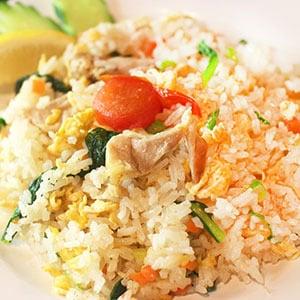 【タイ料理】タイの焼き飯(チキン)