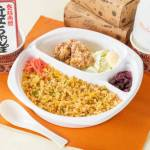焼飯定食 Fried rice set(Fried rice・Fried chicken 2pieces)