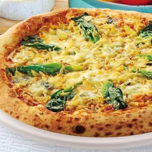 【ナポリ生地】釜揚げしらすと菜の花のゴルゴンゾーラピッツァ Sサイズ