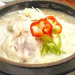 参鶏湯/Ginseng chicken soup