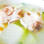 トウガンと鶏肉スープ/Winter melon and chicken soup
