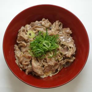 ねぎ塩牛カルビ丼