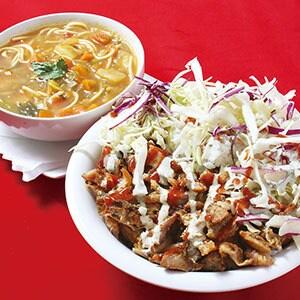 【04】ケバブ・スープセットC/KEBAB DON AND SOUP SET