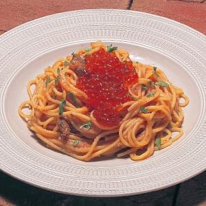 いくらとウニと明太子のバター風味 Ikra & Sea Urhin & Mentaiko シングルサイズ