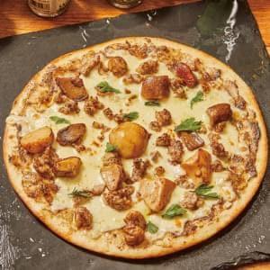 純ポルチーニ茸とサルシッチャのピッツァ Funghi Porcini & Salsiccia Mサイズ