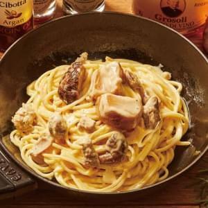 純ポルチーニ茸のカルボナーラ Funghi Porcini & Carbonara シングルサイズ