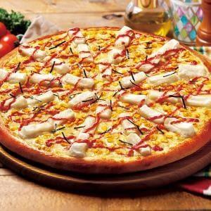 博多明太子とおもちのピザ Sサイズ