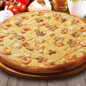ピザポケット シーフードグラタンのピザ