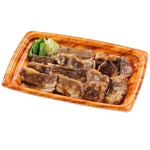 【033】牛カルビ&中落ちカルビ皿 並盛