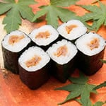かんぴょう巻き(1本) Seasoned Gourd Rolled Sushi(1roll)