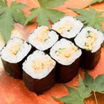 納豆巻き(1本) Natto Soybean Rolled Sushi(1roll)