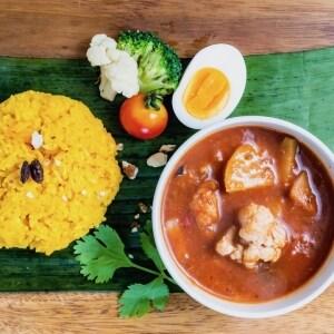 南インド風野菜カレー