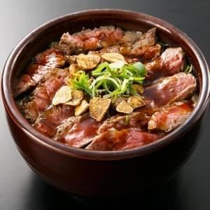 ランチガーリックステーキ丼