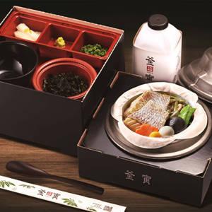 【B91】鯛釜飯(使い捨て容器)