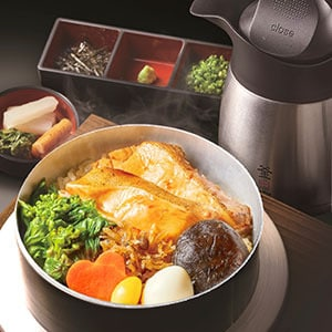 【B61】カレイの煮付け釜飯