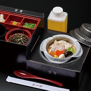 【B209】鯛釜飯(使い捨て容器)