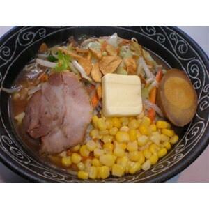 【714】ガーリック味噌バターコーンラーメン(黄油味噌面)