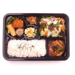 【7】いろいろ野菜炒め弁当