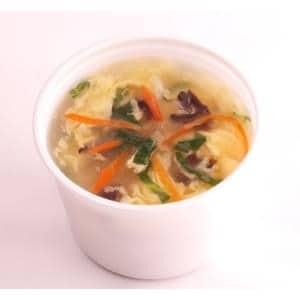 【113】玉子入り野菜スープ