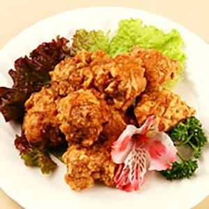 【11】鶏唐揚げ(油林ソース)