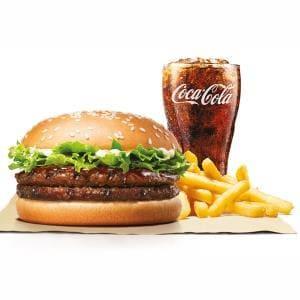 テリヤキダブルビーフバーガーセット/Teriyaki Double Beef Burger Set