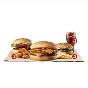バーガーコレクションセット(3名さま用)/Bundle Set: Burger Collection(For 3 people)