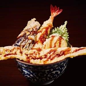 特価【6】豪快大穴子と大海老天丼 通常価格(税込)1580円→