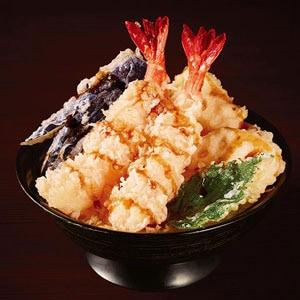 【69】特上大海老名人天丼
