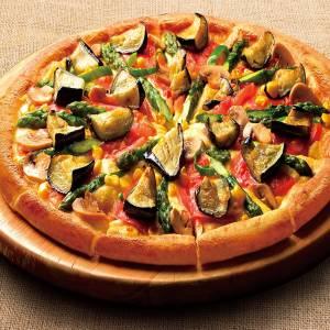 〈Mサイズ1300円 Lサイズ2520円〉よくばり野菜の7種の野菜ピザDX Mサイズ