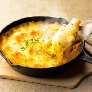 ヨーロッパ産4種チーズのグラタン