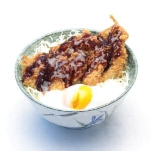 温玉ソースかつ丼(ヒレ2枚)