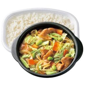 肉野菜炒め弁当 普通