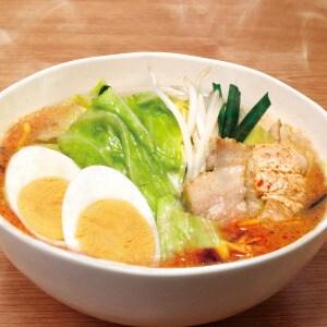 【麺なし】野菜【辛みそ】【味玉】味噌ラーメン